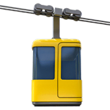 Aerial Tramway Emoji on Apple macOS and iOS iPhones