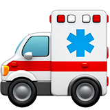 Ambulance Emoji on Apple macOS and iOS iPhones