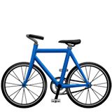 Bicycle Emoji on Apple macOS and iOS iPhones