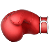 Boxing Glove Emoji on Apple macOS and iOS iPhones