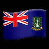 Flag: British Virgin Islands Emoji on Apple macOS and iOS iPhones