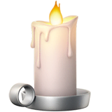 Candle Emoji on Apple macOS and iOS iPhones