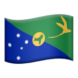 Flag: Christmas Island Emoji on Apple macOS and iOS iPhones