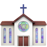 Church Emoji on Apple macOS and iOS iPhones