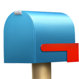 Closed Mailbox With Lowered Flag Emoji on Apple macOS and iOS iPhones