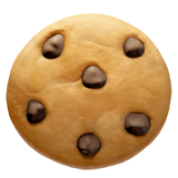 Cookie Emoji on Apple macOS and iOS iPhones