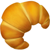 Croissant Emoji on Apple macOS and iOS iPhones
