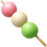 Dango giapponese su Apple macOS e iOS iPhones