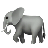 Elefante en Apple macOS y iOS iPhones