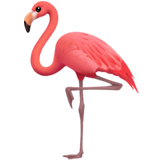 Flamingo Emoji on Apple macOS and iOS iPhones