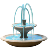 Fountain Emoji on Apple macOS and iOS iPhones