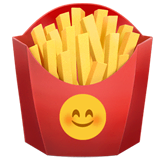 French Fries Emoji on Apple macOS and iOS iPhones