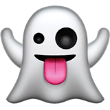 Ghost Emoji on Apple macOS and iOS iPhones