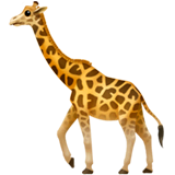 Girafe sur Apple macOS et iOS iPhones