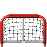 Goal Net Emoji on Apple macOS and iOS iPhones