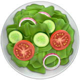 Green Salad Emoji on Apple macOS and iOS iPhones