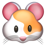 Hamster Emoji on Apple macOS and iOS iPhones