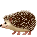 Hedgehog Emoji on Apple macOS and iOS iPhones