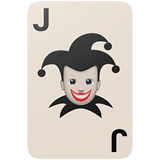 Joker Emoji on Apple macOS and iOS iPhones