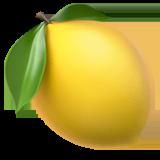 Lemon Emoji on Apple macOS and iOS iPhones