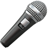 Microphone Emoji on Apple macOS and iOS iPhones