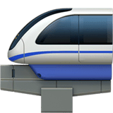 Monorail sur Apple macOS et iOS iPhones