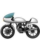Motorcycle Emoji on Apple macOS and iOS iPhones