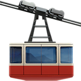 Mountain Cableway Emoji on Apple macOS and iOS iPhones
