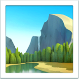 National Park Emoji on Apple macOS and iOS iPhones