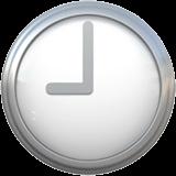 Nine O'clock Emoji on Apple macOS and iOS iPhones