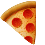Pizza Emoji on Apple macOS and iOS iPhones