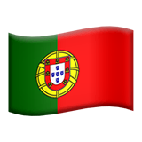Flag: Portugal Emoji on Apple macOS and iOS iPhones