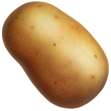 Potato Emoji on Apple macOS and iOS iPhones
