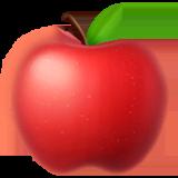 Red Apple Emoji on Apple macOS and iOS iPhones