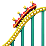 Roller Coaster Emoji on Apple macOS and iOS iPhones