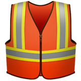 Safety Vest Emoji on Apple macOS and iOS iPhones