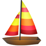 Sailboat Emoji on Apple macOS and iOS iPhones