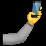 Selfie Emoji on Apple macOS and iOS iPhones