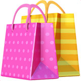 Shopping Bags Emoji on Apple macOS and iOS iPhones