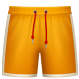 Shorts Emoji on Apple macOS and iOS iPhones