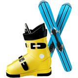 Skis Emoji on Apple macOS and iOS iPhones