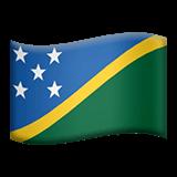 Drapeau des Îles Salomon sur Apple macOS et iOS iPhones
