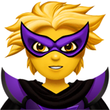 Supervillain Emoji on Apple macOS and iOS iPhones