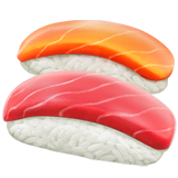 Sushi Emoji on Apple macOS and iOS iPhones