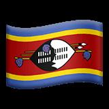 Флаг Свазиленда Эмодзи на Apple macOS и iOS iPhone