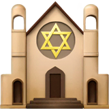 Synagogue Emoji on Apple macOS and iOS iPhones