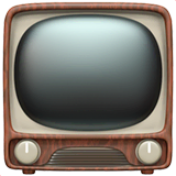Television Emoji on Apple macOS and iOS iPhones