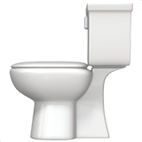 Toilet Emoji on Apple macOS and iOS iPhones