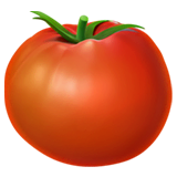 Tomato Emoji on Apple macOS and iOS iPhones