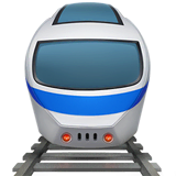 Train Emoji on Apple macOS and iOS iPhones